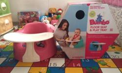 FOR SALE: BUMBO Floor Seat, Restraint Belt and Play