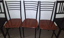 For sale wooden dinning set (table and 3 chairs)