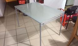 For Sale: Glass Table Condition 9/10 - not sure of the