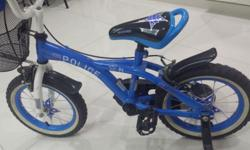 Almost new(less than 2 months used) kids bicyçle is