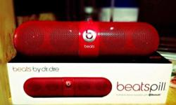 Beats by Dre Pill Speaker Set ONLY 1pc LEFT. PM if i