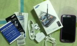 For sale recently bought galaxy note II with complete