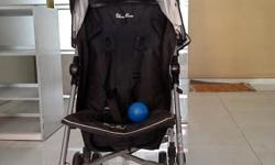 Item: Silver Cross Pop Stroller Color: Black Condition: