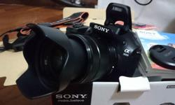 Sony a3000 complete set in a very good condition