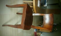 Sturdy chair bought 3 years ago from Lim's. Very