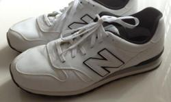 For sale : used New Balance shoes (White) $30.00