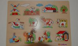 High Quality Wood Puzzle in great condition We are