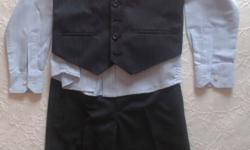 Formal wear for boy. Suit size is for 6-8 years old,