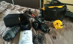 For sale Pentax K-R DSLR Auto focus not working. for