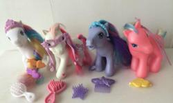 GENUINE My Little Pony - $40 for FOUR ponies: Pink Ice