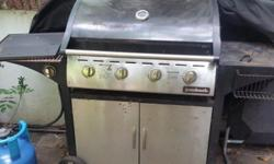 Giving away a 4 burner used BBQ. it works fine but has