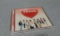 "Japanese Group NEWS ""Touch"" Album selling FREE. Touch"