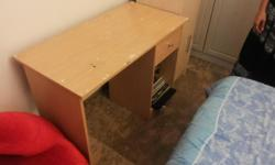 A veneer desk still solid but will require some tlc on