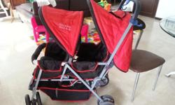 Used twin stroller letting go at $80. Condition 7/10.