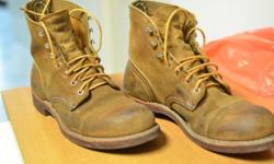Genuine Red wing heritage boots, 8113, Iron ranger 6""