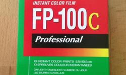 FP-100C ,FP100C *10 exposed per pack *For Polaroid land