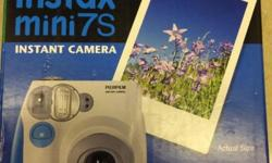 Fujifilm instant camera Mini 7S Completely brand new
