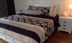 King Size Bedroom + dressing table + two side cabinets,