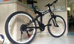 Full Suspension Foldable Mountain Bike Condition: