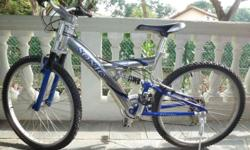 Selling Full Suspension (front & rear) 26� Mountain