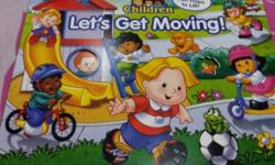 Let's Get Moving! Its a fun book to read. Over 40 fun