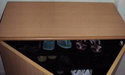 WE HAVE 1. CHEST OF DRAW 2. WOODEN SHOE RACK   FOR SALE
