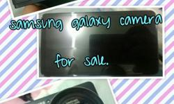 Selling galaxy camera used, warranty still valid for