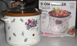 Moving overseas garage sales   Slow Cooker (Crockpot)