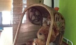 Rarely used garden swing chair from Indonesia for sale