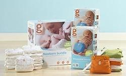 gDiapers newborn bundle never used for sale. Bought
