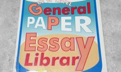 General Paper Essay Library 'A' level. New condition