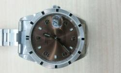 Genuine and Beautiful Rolex Datejust 15210 Rare Salmon