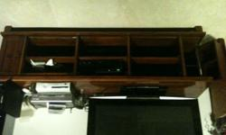 Television cabinet and storage unit. High quality Teak