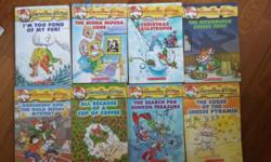 I have about 30 Geronimo Stilton books and looking to