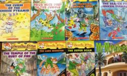 6 Geronimo Stilton and 1 Mr Mystery books for sale @