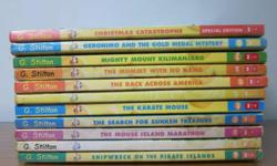 11 Geronimo Stilton books in good and enjoyable