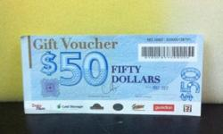 5% OFF THE VOUCHER VALVE...... ONLY LEFT $6000......