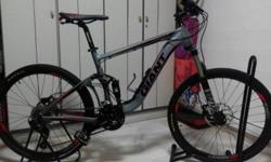 -Full suspension mountain bike from Giant. -Have not