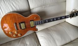 Gibson Les Paul Supreme Replica Flame Top, Grover