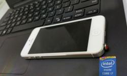 Iphone 5, white, 16GB very good condition. only one