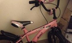 16inch Aleoca bike in pink. $29 only. Condition : 7/10