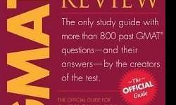 The Official Guide for GMAT Review = $10 GMAT Book 2 -