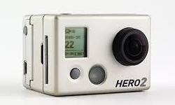 Used go pro hero 2 for sale.comes with spare batteries