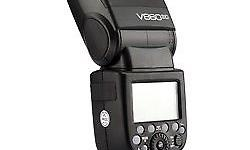 Brand new Godox v860ii flash with 12 month shop