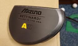 MIZUNO BETTINARDI A01 Milled Putter For Sale! Used.