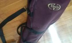 Bundle Sale: VERITY Golf Sunday Bag + NICKENT Golf Shoe