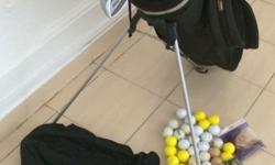 For sale: Wilson 1200 Gear Effect golf set, including