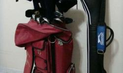 Cash n Carry term Golf Set n Sunday Bag very good