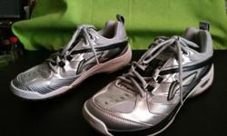 Hi, Have a good pair of Li Ning running shoes size US8.