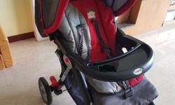 Baby stroller - very good condition, with big basket &